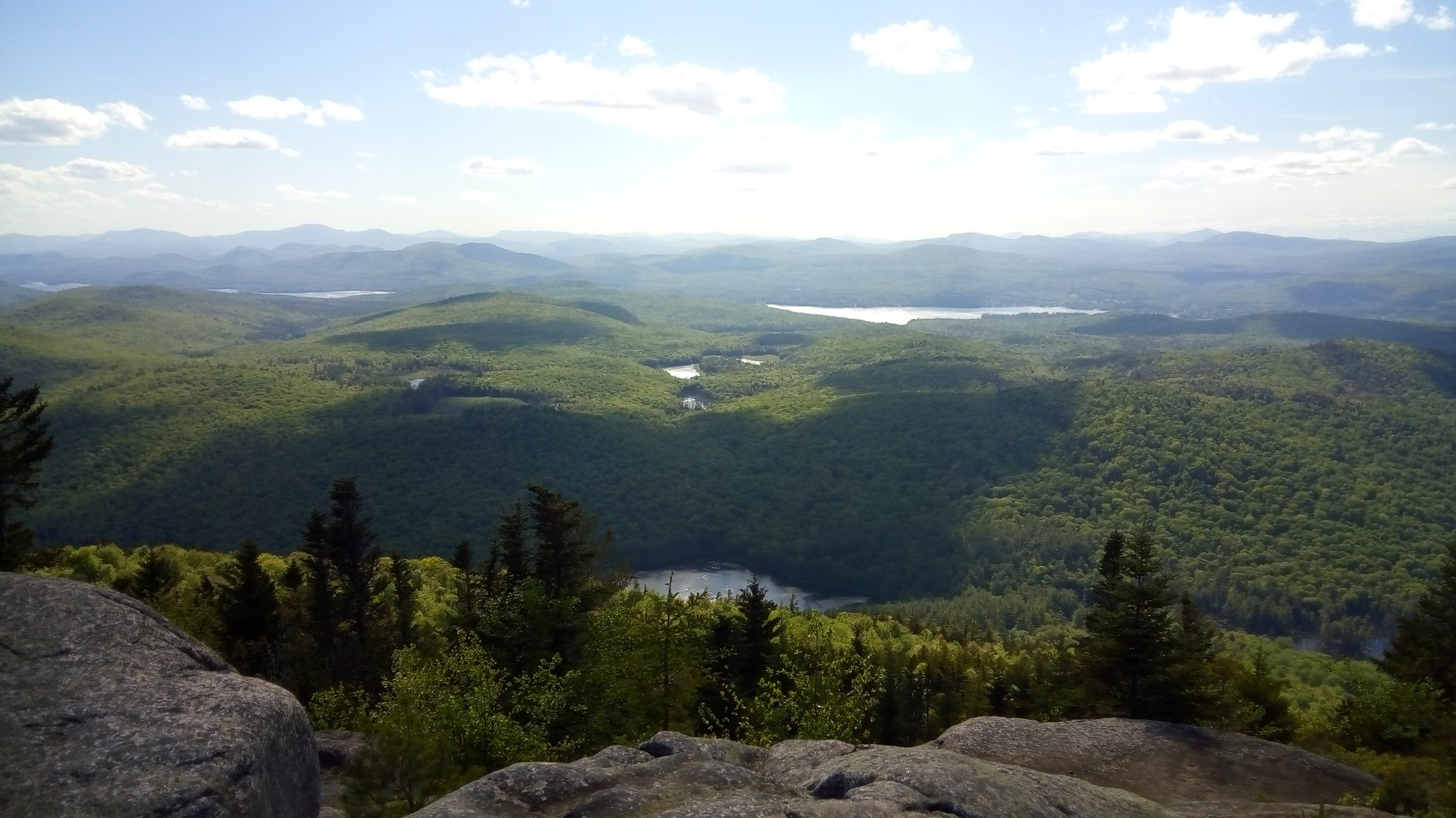 view from top of hike
