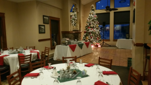 holiday party at dunham's bay resort