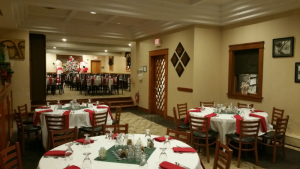 holiday party set at dunham's bay resort