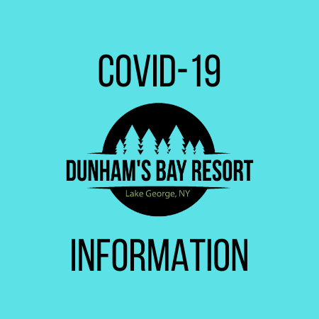 COVID-19 Information, Dunham's Bay Resort