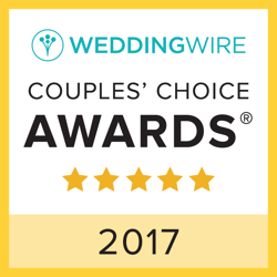 wedding wire 2017 couple's choice award