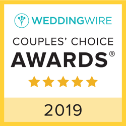 wedding wire 2019 couple's choice award